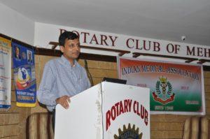 Dr. Pranav Joshi Speech